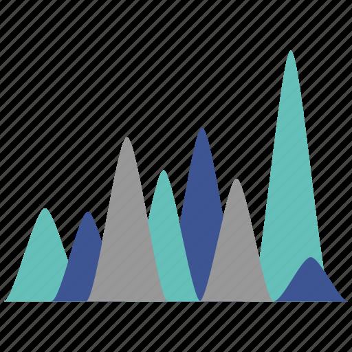 diagram, infographics, seo icon