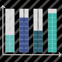 dots, infographics, line, seo icon