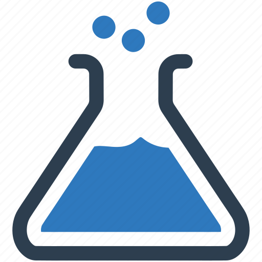 beaker, lab, laboratory, science, test icon