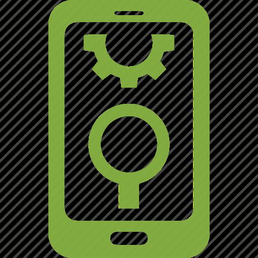 internet marketing, mobile seo, search engine optimization icon