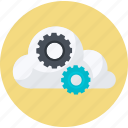 business, cloud, computing, flat design, internet, network, technology icon