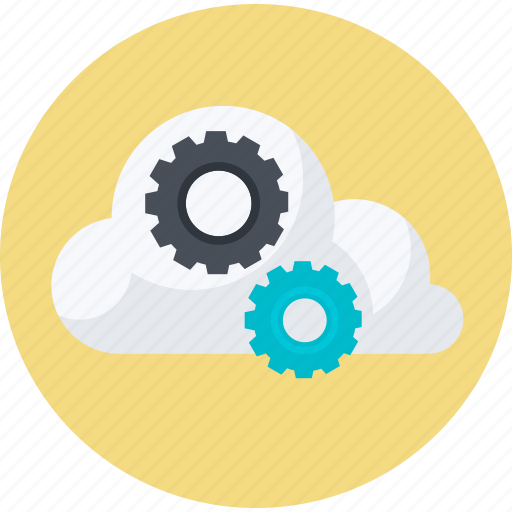 business, cloud, computing, flat design, internet, network, technology icon
