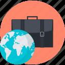 business, international, round