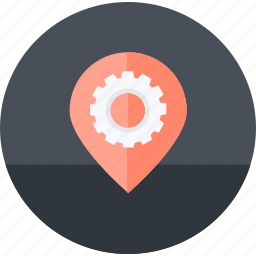 flat design, location, network, optimization, places, seo, social media icon
