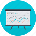 analysis, optimization, round, seo, training icon