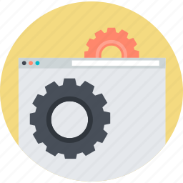 flat design, maintenance, round, seo, services, support, website icon
