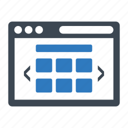 application, browser, internet, web page icon