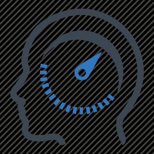 performance, productivity, speedometer icon