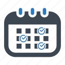 appointment, event, working schedule icon