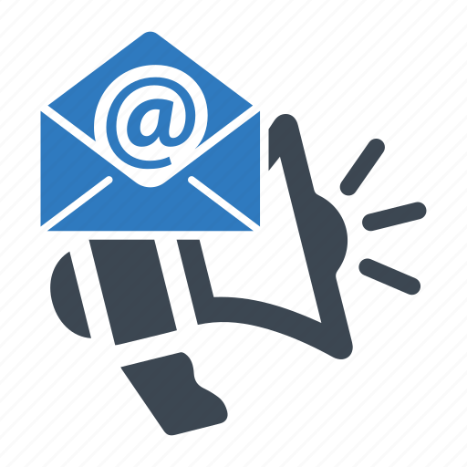 advertising, email, marketing icon
