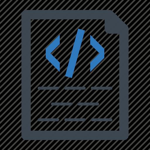 code, coding, html icon