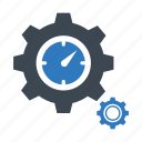gear, optimization, performance icon