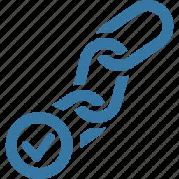 backlink, backlink checker, connection, seo icon