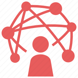 connection, network, networking, seo icon