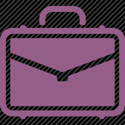 briefcase, office, portfolio, suitcase icon