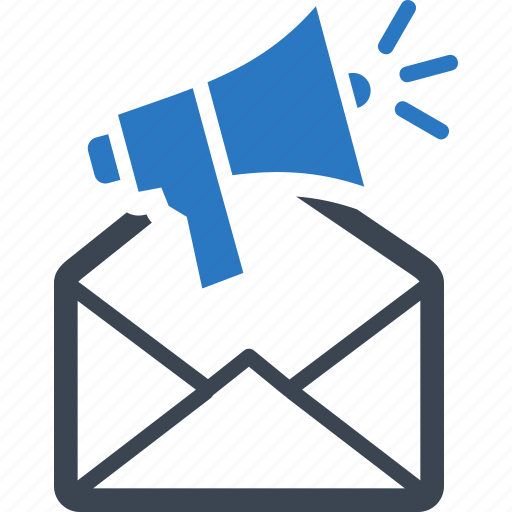 advertising, email marketing, marketing, megaphone icon