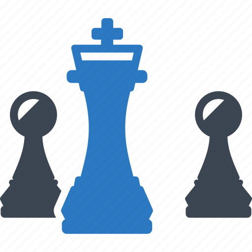 business planning, chess, game, internet marketing, seo strategy icon