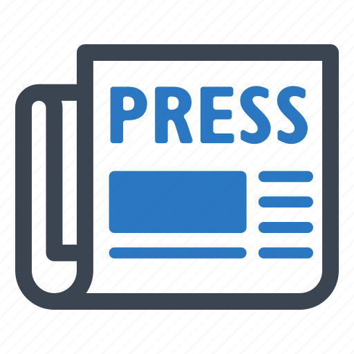 advertising, article, journalism, news, newspaper, press release icon