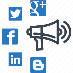 advertising, connection, marketing, networking, social media icon