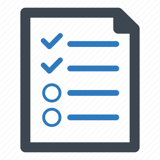 audit, report, research, survey icon