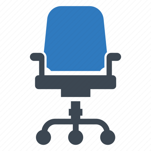 business, chair, desk icon