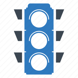 light, signal, traffic, traffic light icon