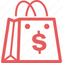 affiliate marketing, ecommerce, finance, internet marketing, seo, shopping bag icon