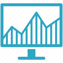 business, graph, seo, statistics, web analytics icon