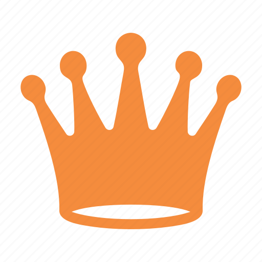 crown, king, quality, royal, web content icon