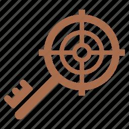 keyword targeting, secure, seo, target icon