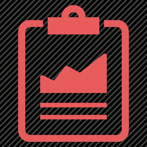 analytics, clipboard, report, seo, statistics icon