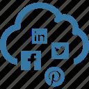cloud, social media cloud, seo, network
