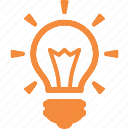 brainstorming, business, creativity, electricity, energy, idea, light bulb icon