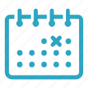 calendar, date, day, deadline, event, month, schedule icon