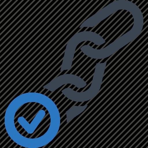 backlink, checker, connection, seo icon