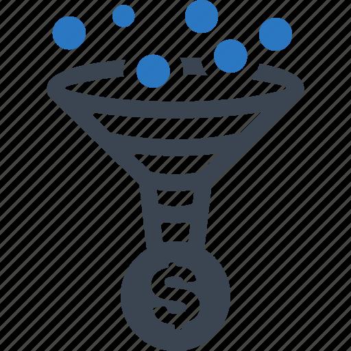 conversion rate, funnel, optimization, seo icon