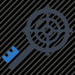 keyword targeting, target, web icon