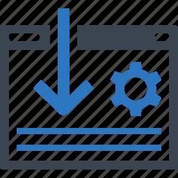 landing page, optimization, search engine, seo icon