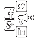 facebook, google, instagram, marketing, media, social, twitter icon