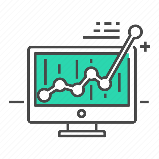 business, chart, computer, internet, marketing, monitor, website icon