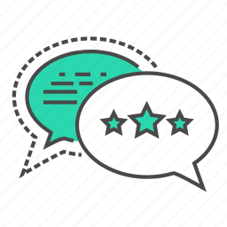 business, customer, discussion, marketing, review, speak, talk icon