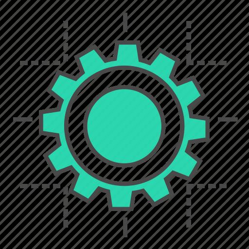cog, design, development, internet, marketing, seo, setting icon