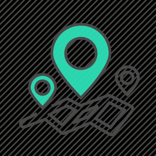 address, internet, logistic, map, marketing, navigator, pin icon