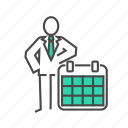 calendar, dates, event, planning, schedule, terms, time icon