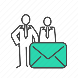 business, business man, email, internet, mail, received, send icon