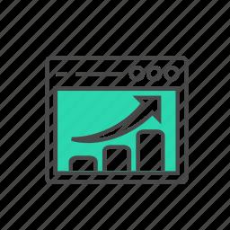 bullseye, business, goal, internet, marketing, success, target icon