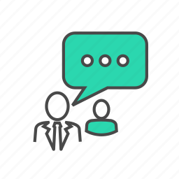 business, chat, communication, message, seo, talk, users icon
