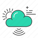 cloud, cloud network, connection, data, internet, network, save icon