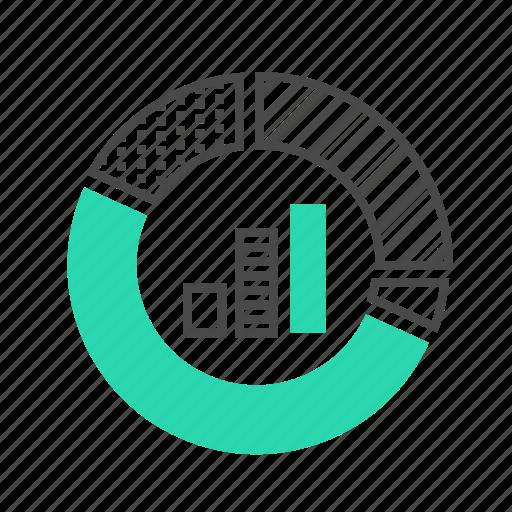 analysis, business, chart, marketing, percent, seo, statistics icon