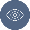 eye, glasses, view icon